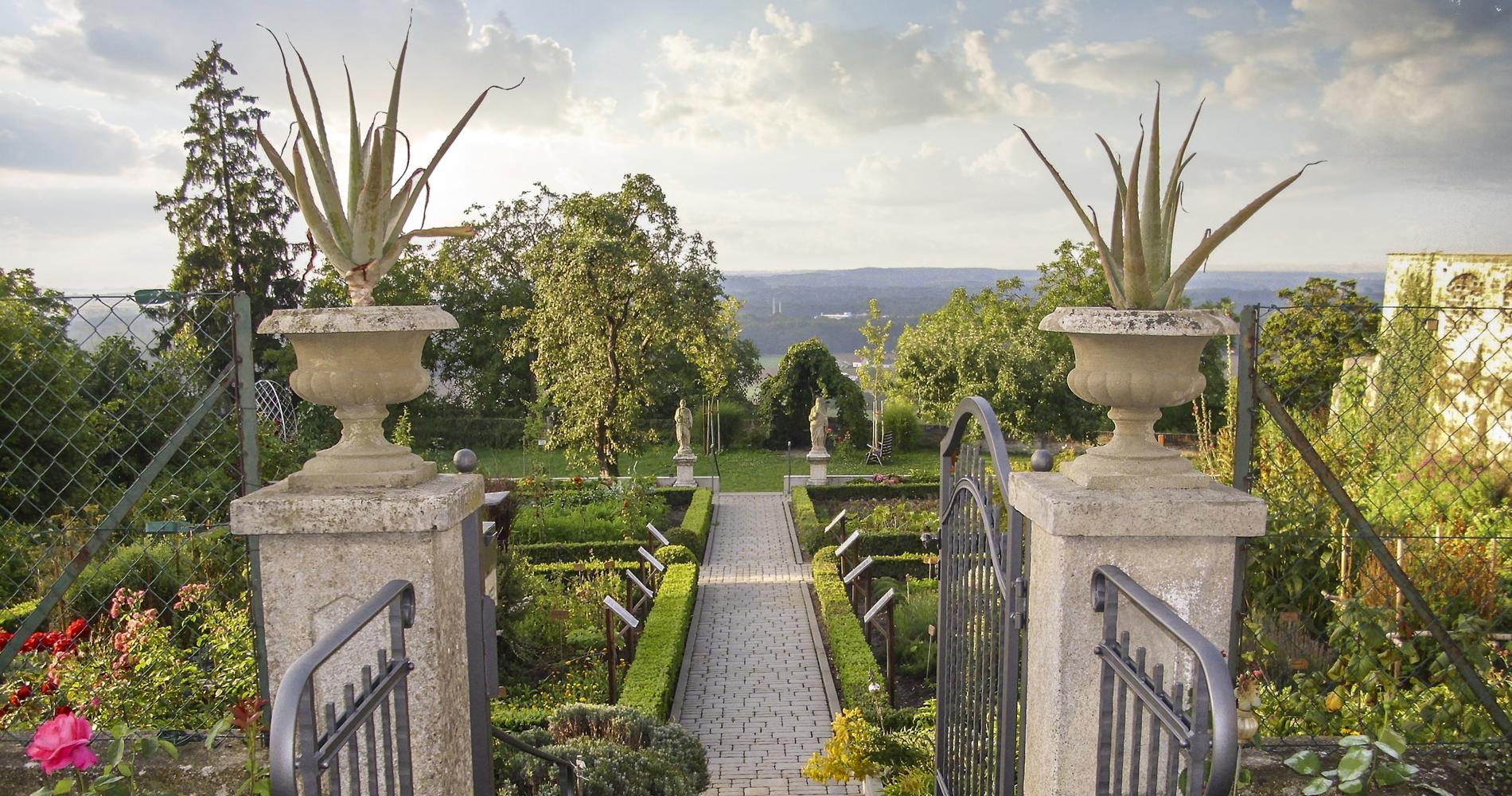 Der Klostergarten in Oberelchingen