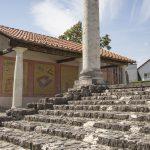 Der Apollo-Grannus-Tempel  ist mit 1000 Quadratmeter der größte erhaltene Tempelbau der Römer nördlich der Alpen.