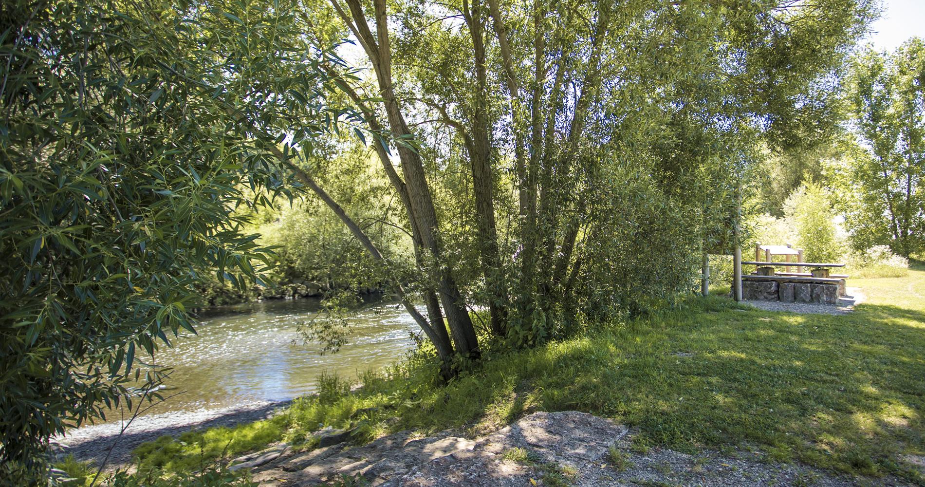 Auf einer rund 5 Kilometer langen Route bietet der GIEP-Erlebnispfad Interessantes rund um die Themen Wasser und Gewässer.