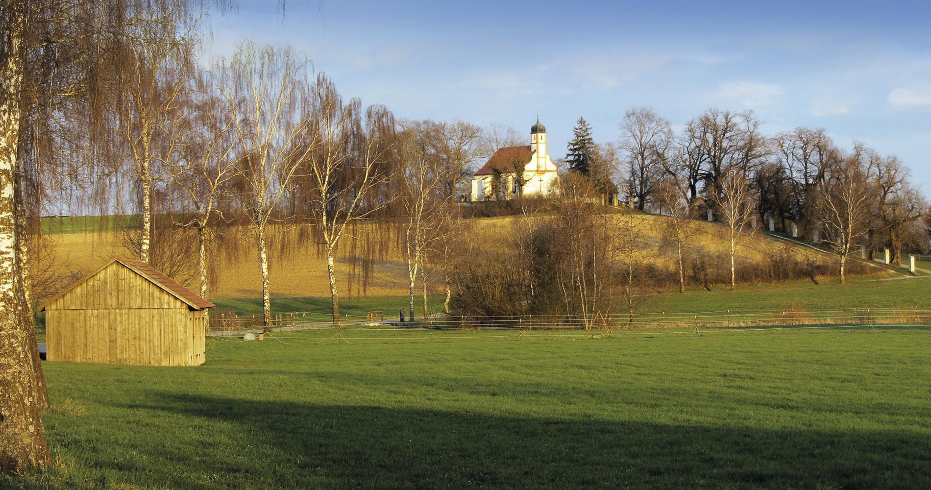 """Die Kapelle """"St. Georg"""" wurde im 15. Jahrhundert errichtet."""