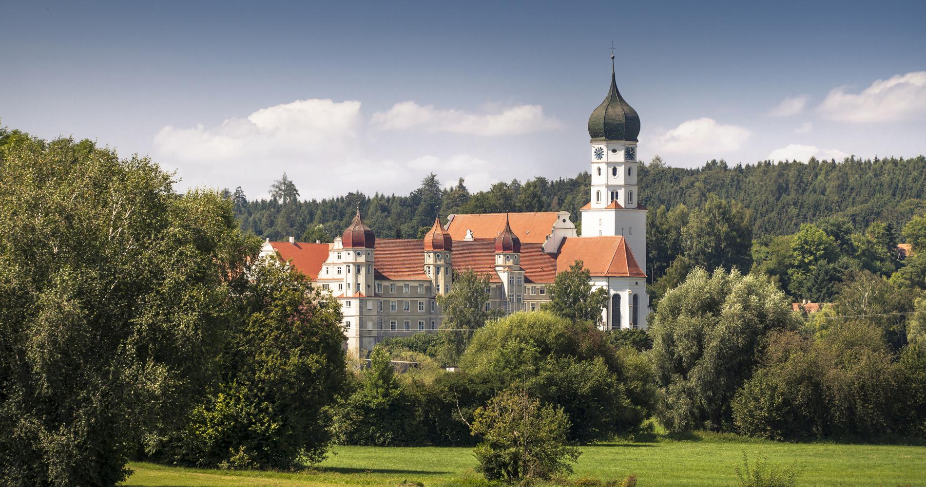 Das Kloster Wettenhausen im Kammeltal