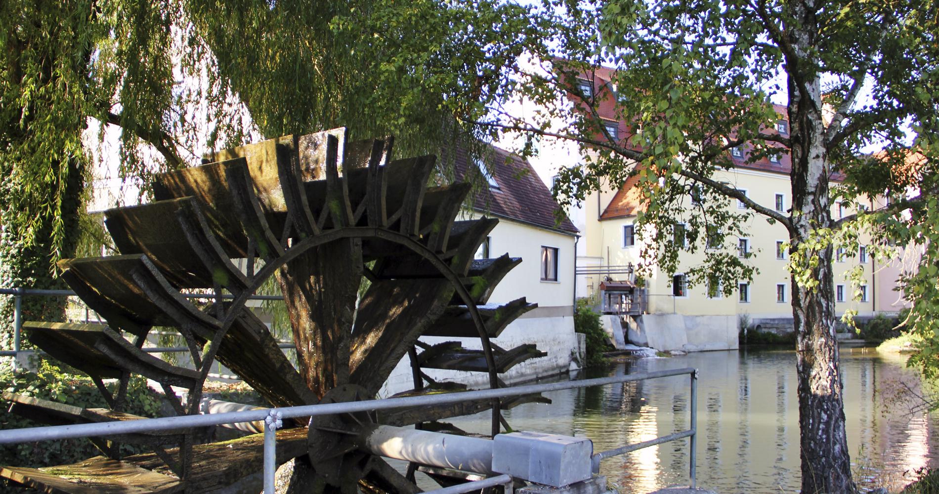 Auch in Wertingen: Die Weyermühle im ehemaligen Klosterkomplex aus dem 13. Jahrhundert